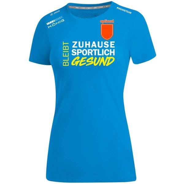 SV Union Booßen - Jako T-Shirt Bleib gesund Damen JAKO blau BG6175-89