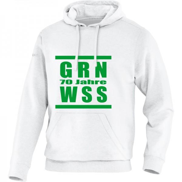 SV Grün-Weiß Bergfelde - 70 Jahre Jako Kapuzensweat Team Kinder weiß 6733-00
