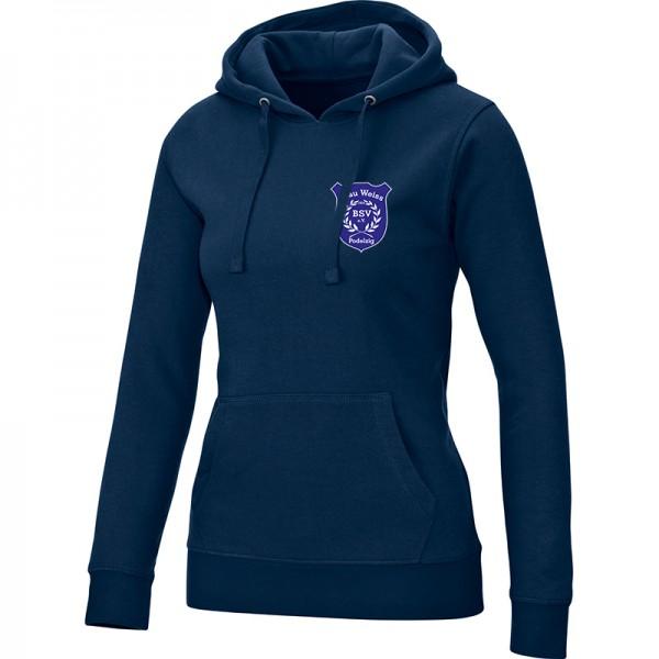 BSV Blau Weiss Podelzig - Jako Kapuzensweat Team Damen marine 6733-09