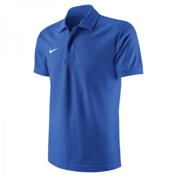 # Nike Team Sports TS Core Herren Polo hellblau 454800-463
